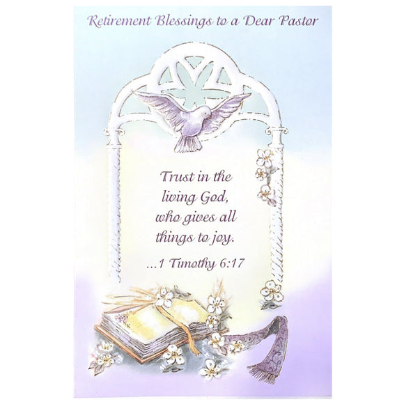 Pastor Retirement Card