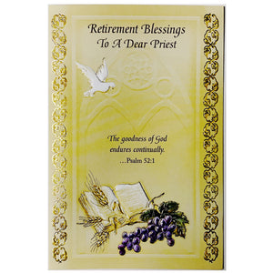 Priest Retirement Card