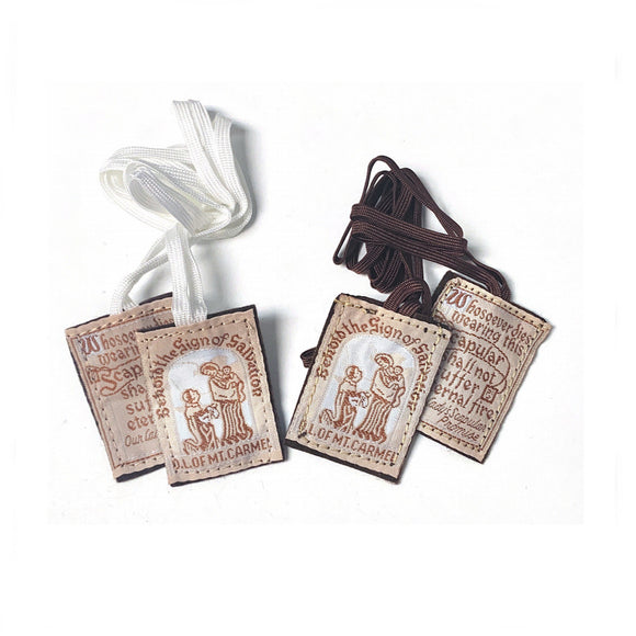 Mt. Carmel Brown Scapular