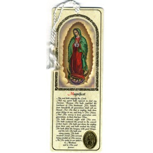 Our Lady of Guadalupe Bookmark with the Magnificat