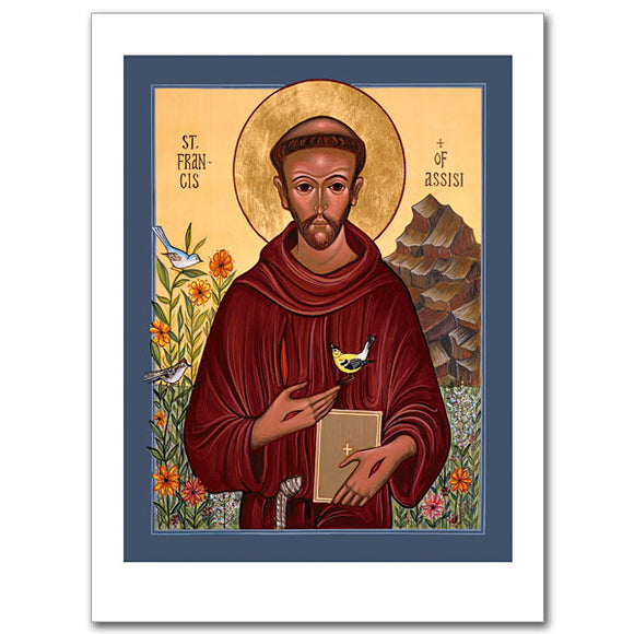 Blank Greeting Card - St. Francis of Assisi