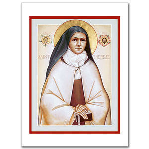 Blank Greeting Card - St. Therese of Lisieux