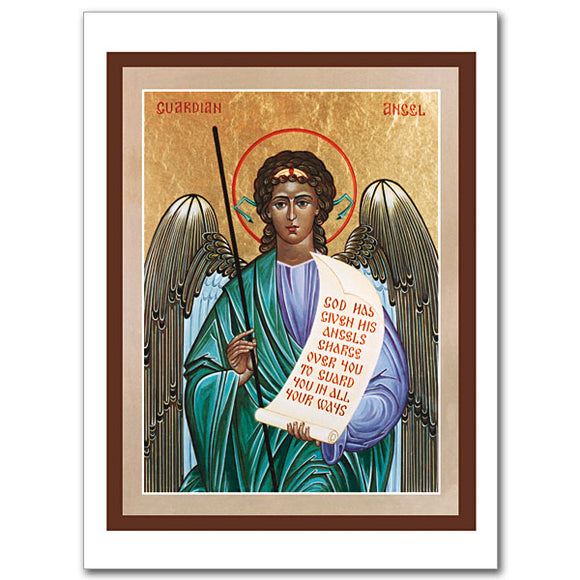 Blank Greeting Card - Guardian Angel