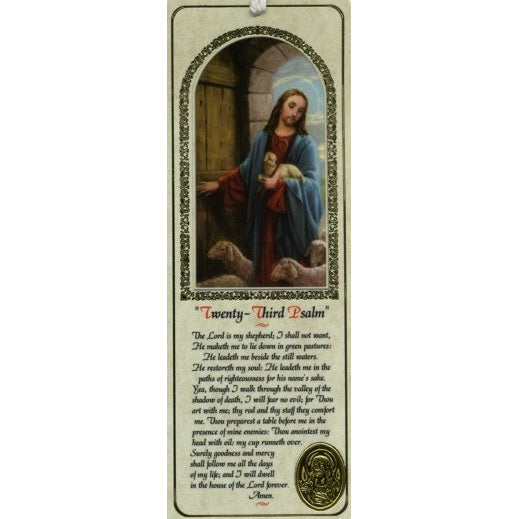 Good Shepherd Twenty-Third Psalm Bookmark