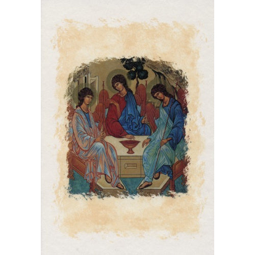 Trinity Icon Blank Greeting Card