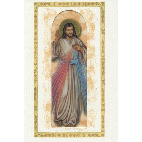 Divine Mercy Blank Greeting Card