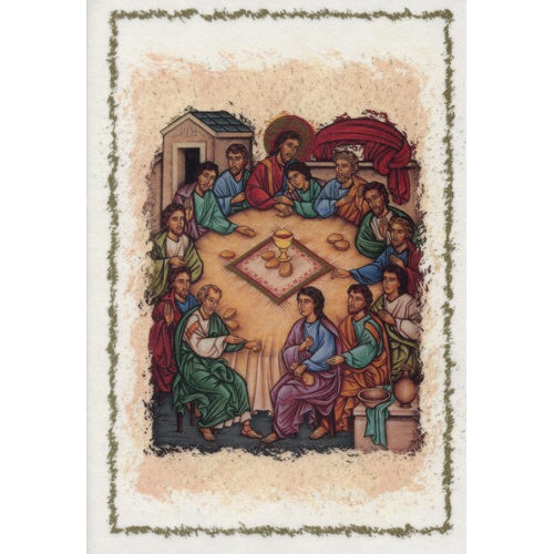 Last Supper Blank Greeting Card