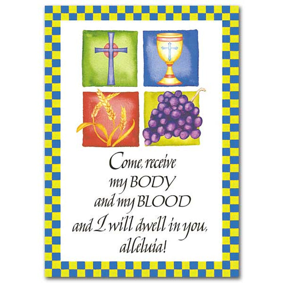 Come Receive My Body...  Card
