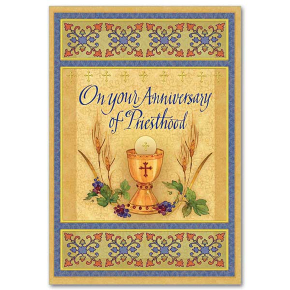 On Your Anniversary of Priesthood