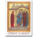 Christ is Risen Icon Easter Card
