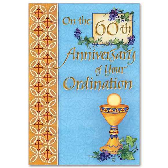 On the 60th Anniversary of Your Ordination