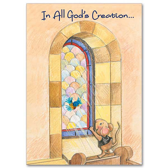 In All God's Creation Birthday Card
