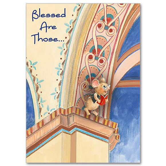 Blessed Are Those Birthday Card