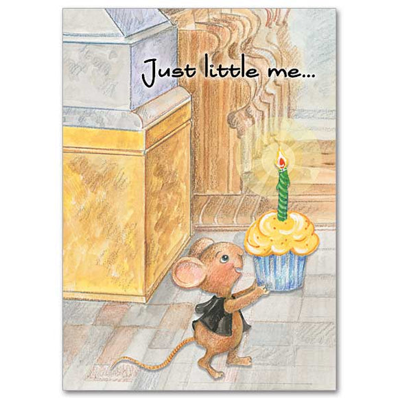 Just Little Me Birthday Card