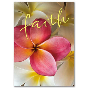 """Faith"" Greeting Card"