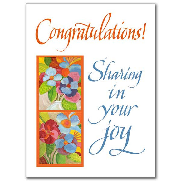 Congratulations! Sharing in Your Joy
