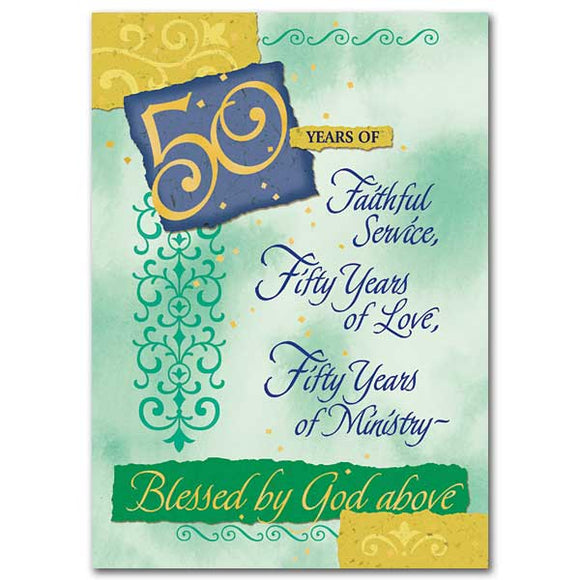 50 Years of Faithful Service