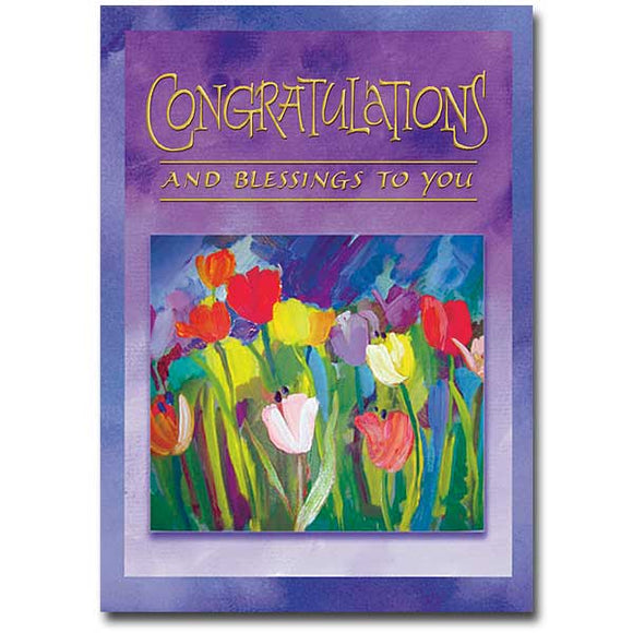 Congratulations and Blessings to You