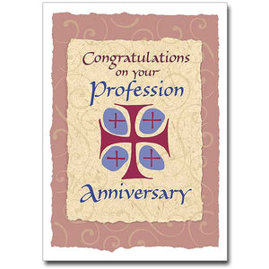 Congratulations on Your Profession Anniversary