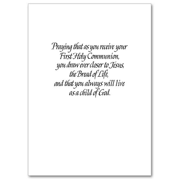 Image result for blessing for first holy communion