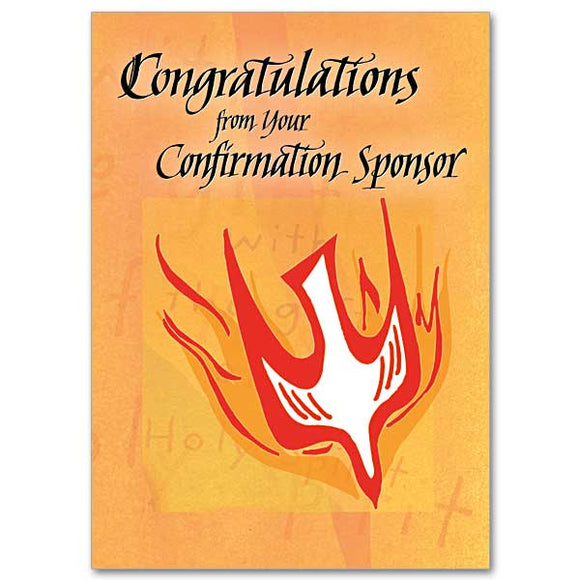 Congratulations from Your Confirmation Sponsor