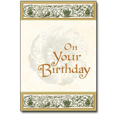 On Your Birthday
