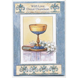 Great Grandson First Communion Card
