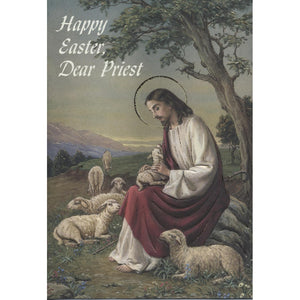 Happy Easter Dear Priest Card