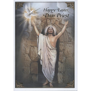 Priest Easter Card