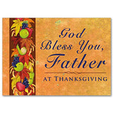 God Bless You Father Priest Thanksgiving Card
