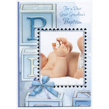 Great Grandson Baptism Card