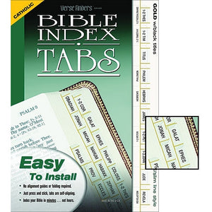 Slim Line Bible Index Tabs