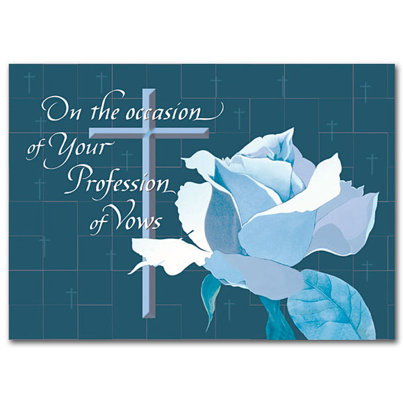 On the Occasion of Your Profession Vows
