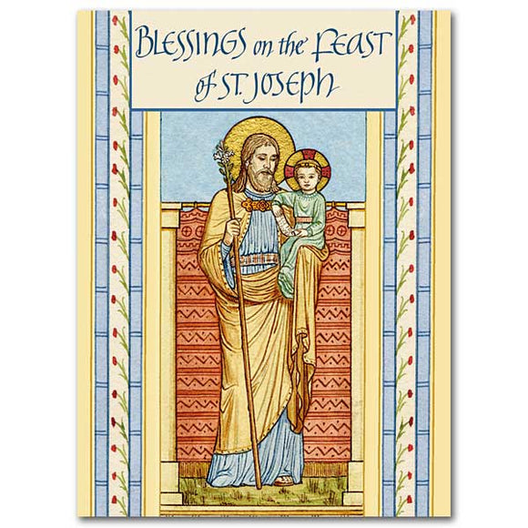 Blessings on the Feast of St. Joseph