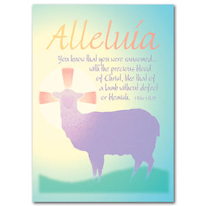 Alleluia...You Know That...Easter Card