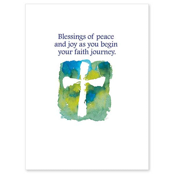 Blessings of Peace RCIA Card