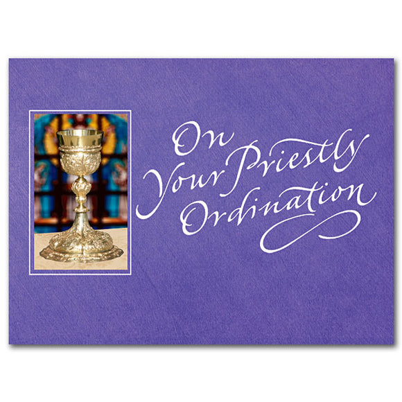 On Your Priestly Ordination Card