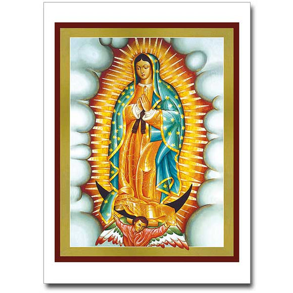 Blank Greeting Card - Our Lady of Guadalupe