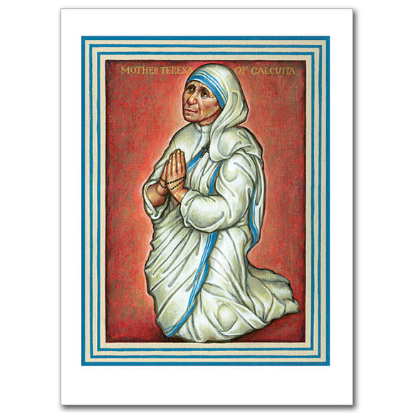 Blank Greeting Card - St. Teresa of Calcutta