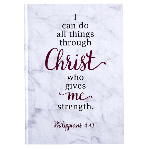 I Can Do All Things Through Christ Journal