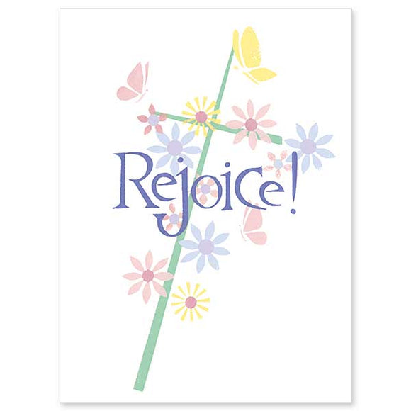 Rejoice! Easter Card