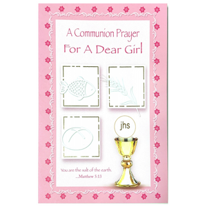 A Communion Prayer for a Dear Girl