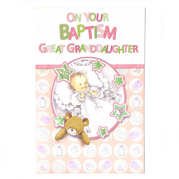 On Your Baptism Great Granddaughter