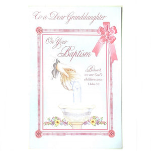 To a Dear Granddaughter On Your Baptism