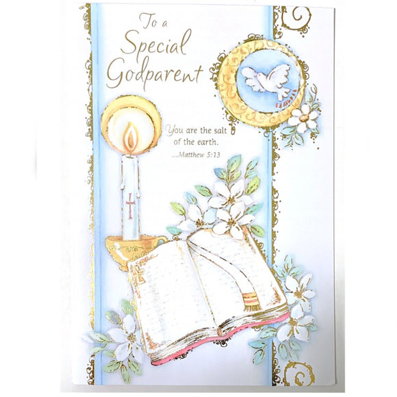 To a Special Godparent Card