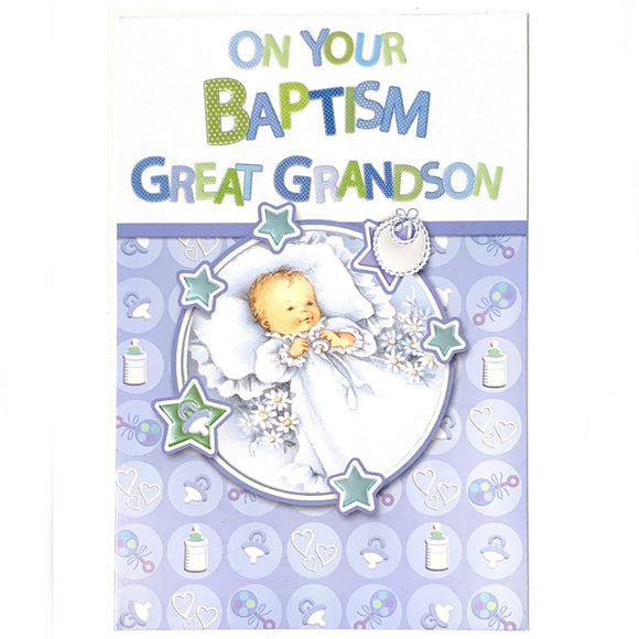 On Your Baptism Great Grandson