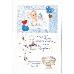 With Love, Great Grandson On Your Baptism
