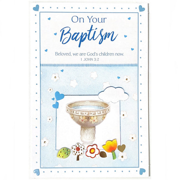 On Your Baptism - Blue