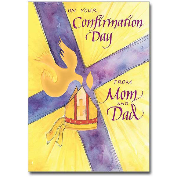 On Your Confirmation Day from Mom & Dad