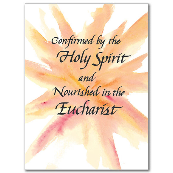 Confirmed by the Holy Spirit RCIA Card